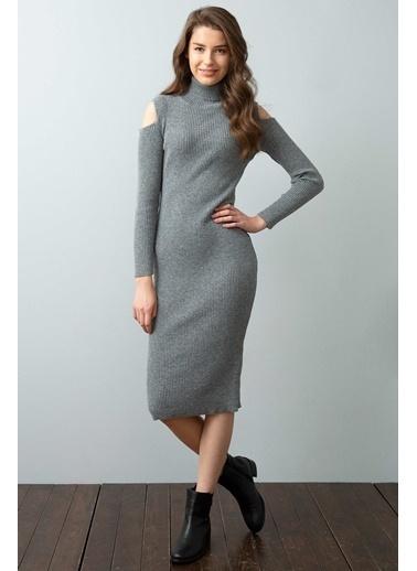 U.S. Polo Assn. Elbise Gri